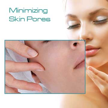 Anti-aging minimizing skin pores with Q-Switched Nd:Yag Laser