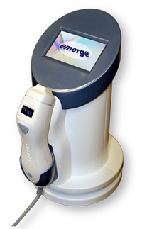 Palomar Emerge Laser The only FDA-approved laser which may be applied to eyelid and around eye