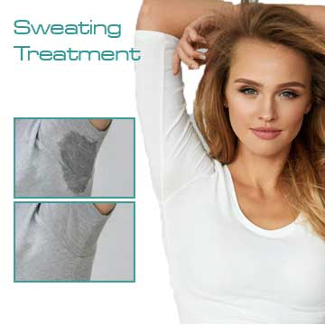 Skin treatment Sweating of Axilla and Hands